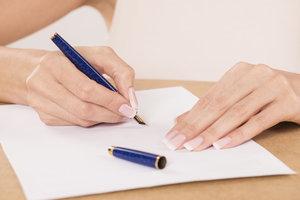 Eheleute sollten auf einem Briefkopf mit vollem Namen genannt werden.