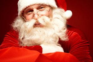 Santa ist in den USA ohne Knecht Ruprecht unterwegs.