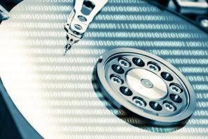 Das Dateisystem einer Festplatte beschreibt den internen Umgang mit Dateien.