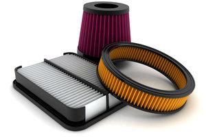 Luftfilter gibt es in unterschiedlichen Ausführungen, jedoch erfüllen alle denselben Zweck.