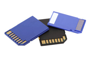 WLAN SD-Speicherkarten übertragen Inhalte kabellos.