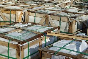 Die Lagerwirtschaft ist ein wichtiges Glied in der Logistikkette.