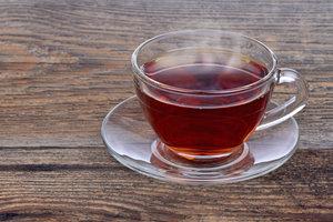 Oolong-Tee ist meist orange gefärbt.