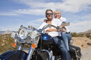 Wenn die warme Jahreszeit kommt, lohnt sich auch das Motorradfahren wieder.