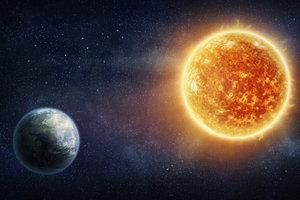 Die Sonne wird immer heißer - irgendwann wird sie allerdings erlöschen.
