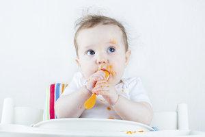Möhrengemüse schmeckt und ist gut verträglich.