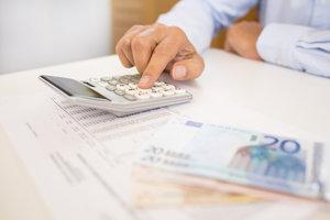 Entgeltersatzleistungen können den Steuersatz erhöhen.