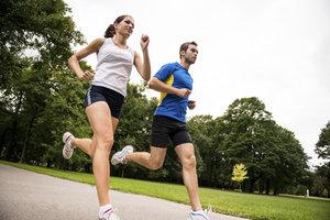 Laufen verbessert die Stimmung.