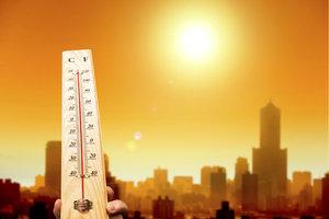 Starke Hitze kann für verschiedene Krankheitssymptome verantwortlich sein.