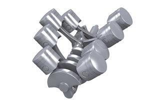 Viele Motoren werden mit einem Zahnriemen angetrieben.