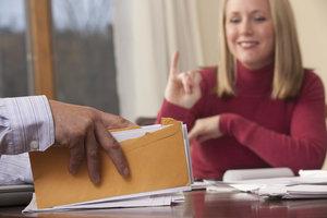 Mit einer Finanzierungszusage sichert man den Kaufvertrag ab.