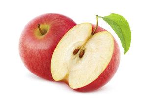 Mit den richtigen Materialen kann aus Äpfeln Strom gewonnen werden.