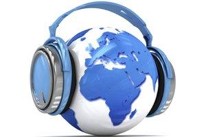 Via Internetradio können Sie viele internationale Sender empfangen.