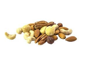 Nüsse unterscheiden sich in ihren Nährwerten deutlich.