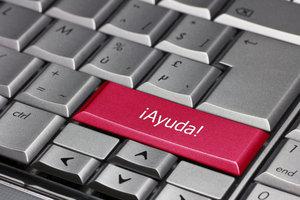Mit der Tastatur lassen sich auch spanische Sonderzeichen einfügen.