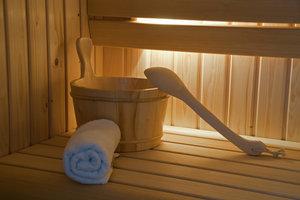 Ein Keller bietet vielfältige Nutzungsmöglichkeiten, wie beispielsweise den Einbau einer Sauna.