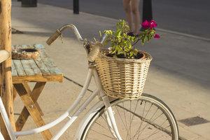 Mit wenig Geld können Sie aus Ihrem alten Fahrrad ein schickes Retro-Rad zaubern.