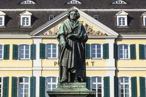 Beethovens Karriere begann in seiner Geburtsstadt Bonn.