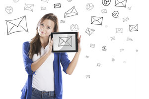 Mit wenigen Schritten wieder auf E-Mails zugreifen können.