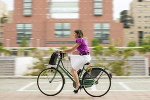 Nutzen Sie Ihr Rad um nebenbei die Ausdauer zu trainieren.