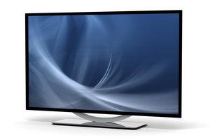 Ein LED-TV liefert ein klares und farbenfrohes Bild.
