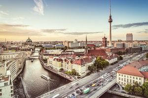 In Berlin können Sie sehr unterschiedlich wohnen.