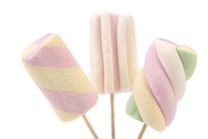 Marshmallow Pops sind schnell hergestellt.