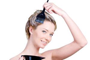 Haare in pastell - einfach aufgetragen