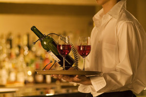 Als Restaurantleiter können Sie in gehobenen Häusern überdurchschnittlich gut verdienen.