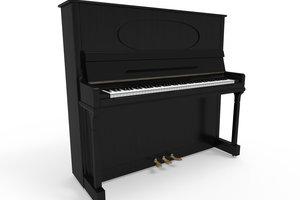 Ein Klavier umfasst 7 Oktaven.