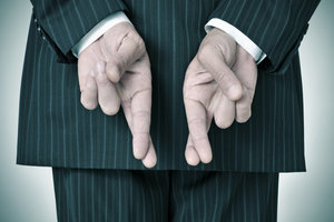 Die Geschäftspraktiken von Finanzvermittlern sind meist unseriös.