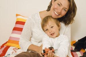 Werbung in eigener Sache - auch für Tagesmütter ein Muss.