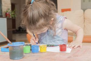 Auch Kleinkinder lassen sich für ein Projekt begeistern