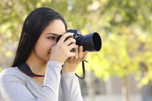 Mit der Einsteigerkamera können Sie schnell gute Fotos aufnehmen.