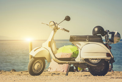 Leichtkrafträder sind sehr günstig im Unterhalt, weil sie steuer- und zulassungsfrei sind.