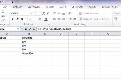 Excel kann beim Ermitteln der Ausgaben helfen.