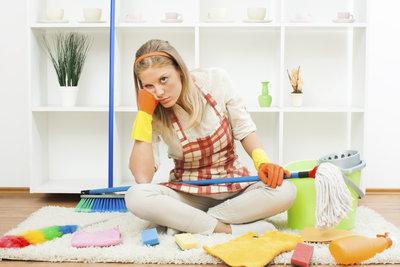 Bio-Reiniger schaden einem Teppich nicht und reinigen gründlich.