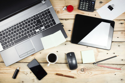 Bei Büroarbeit ist Excel ein nützliches Tool.