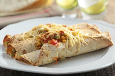Enchiladas sind auch als vegetarische Variante ein Gedicht.