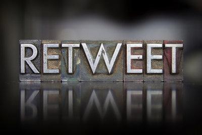 RT steht für Retweet - weiterzwitschern!