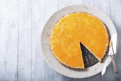Der Orangenkuchen begeistert mit seinem feinherben Aroma.