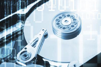 Festplattenspeicher wird auch vom System belegt.