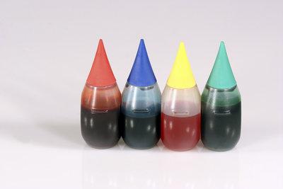 Lebensmittelfarben sind auch mit dem Drucker benutzbar.