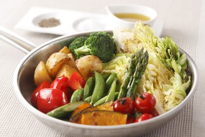 Gedämpftes Gemüse hat einen wundervollen Eigengeschmack.