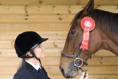 Diese Reiterin wird für ihren 5. Platz einige Ranglistenpunkte angerechnet bekommen