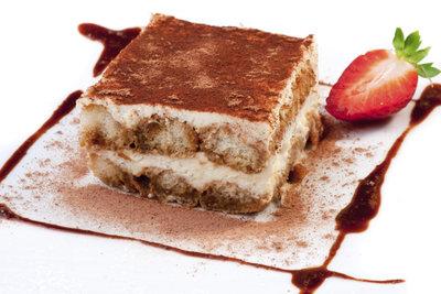 Echtes Tiramisu ist ein perfektes Dessert.