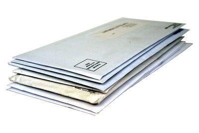 Beim formalen Brief erscheint die Adresse immer im Fenster des Umschlags.