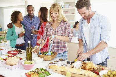 Viele verschiedene Partyrezepte machen Ihre Feier unvergesslich.