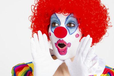 Nicht jeder mag ein Clownsgesicht.