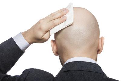 Eine ansehnliche Glatze erfordert Pflege.